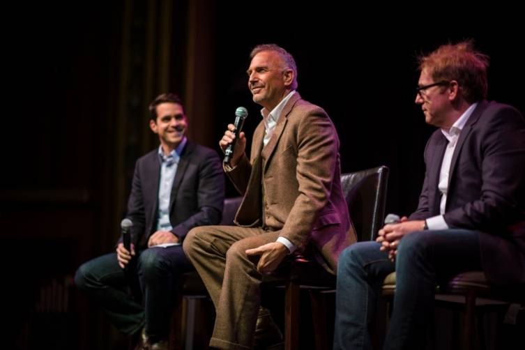 Dave Karger, Kevin Costner, Mike Binder