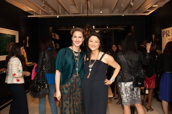 Lisa Salzer and Catherine Kwong