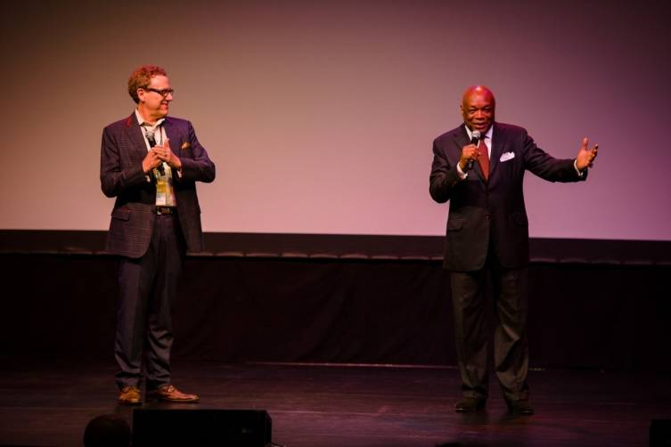 Marc Lhormer and Willie Brown