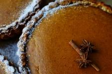 Pumpkin pie at Tartine