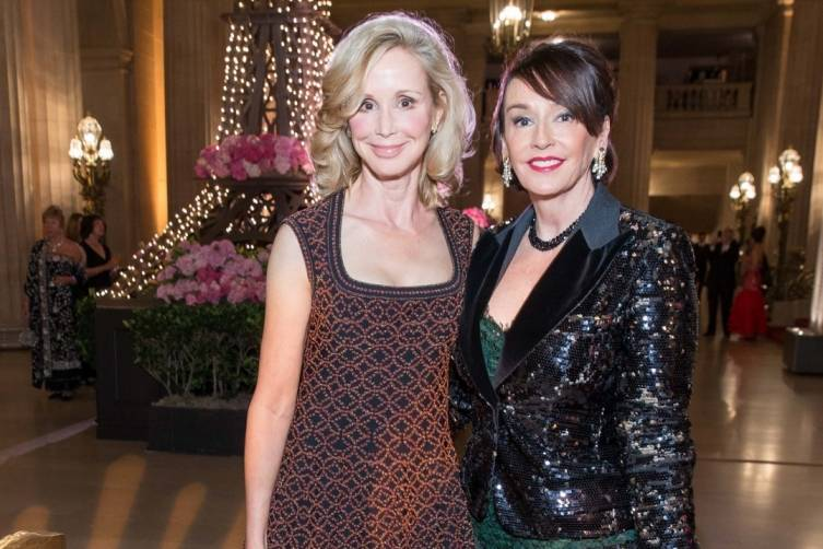 Susan Tamagni and Dr. Elisa Stephens