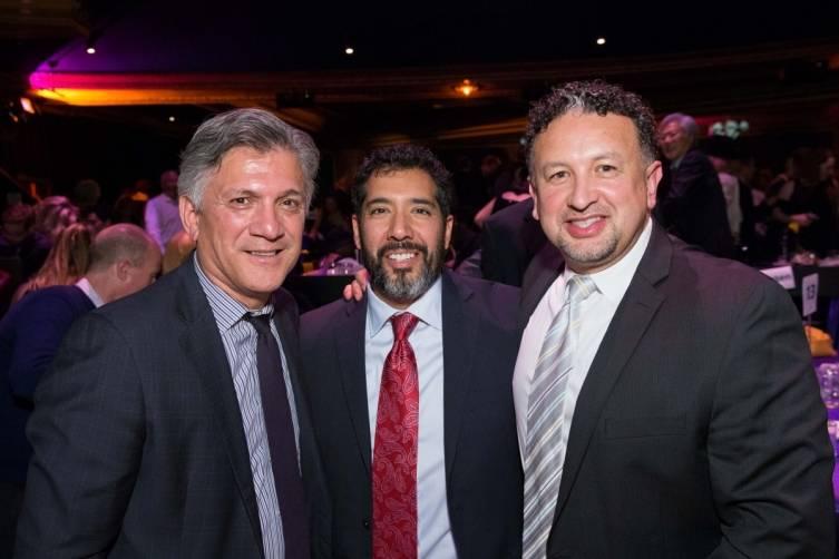 Mario Diaz, Alex Rivera and Miguel Bustos