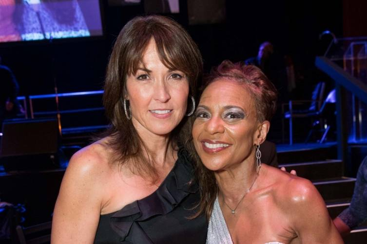 Susan Williams and Renel Brooks-Moone