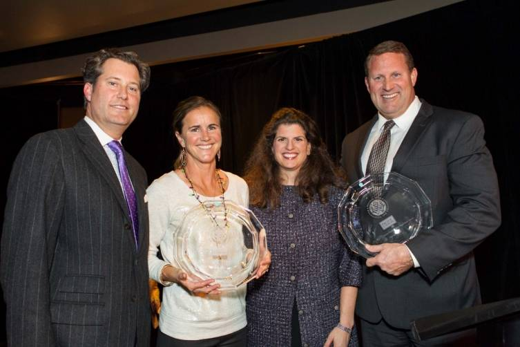 Patrick Barber, Brandi Chastain, Amy Wender-Hoch, Brent Jones