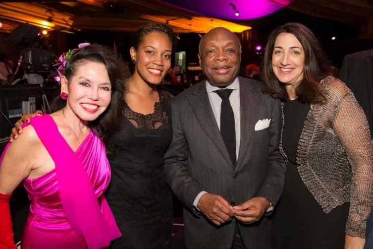 Janice Mirikitani, Chinaka Hodge, Willie Brown and Pam Baer