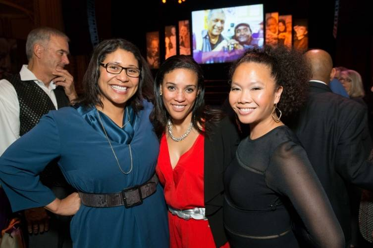 London Breed, Kriztina Palone and Dori Caminong