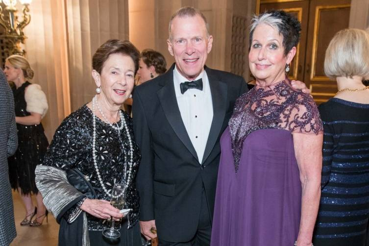 Roselyne Swig, David Gockley and Karen Kubin