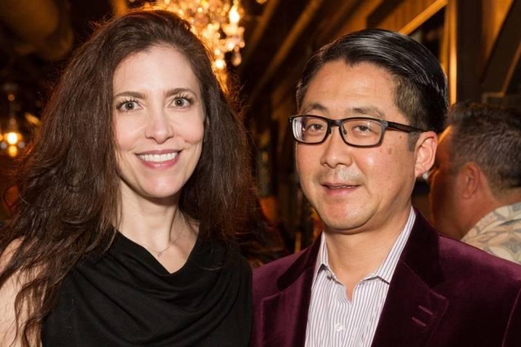 Letitia and Michael Kim