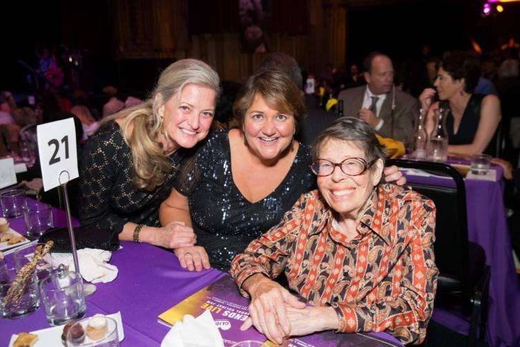 Robin Ridenour, Pastor Dr. Karen Oliveto and Phyllis Lyon