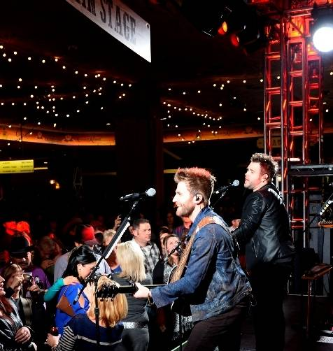 12.10.14 The Swon Brothers Perform at the Gold Buckle Zone at MGM Grand 01 - Photo by Bryan Steffy