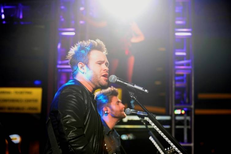 12.10.14 Zach Swon Performs at the Gold Buckle Zone at MGM Grand