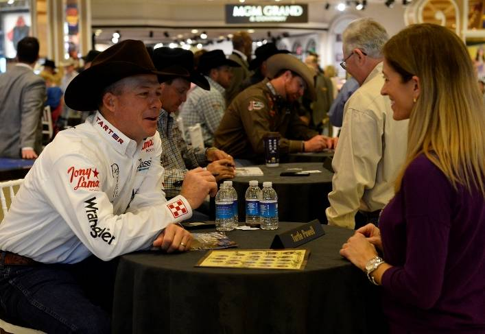 12.5.14 Cowboys Meet Fans at the Autograph Session at MGM Grand - Photo by Bryan Steffy
