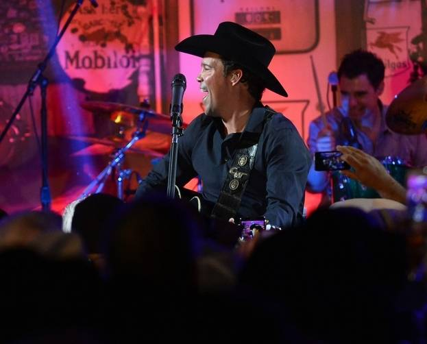 12.6.14 Clay Walker Performs at the Gold Buckle Zone at MGM Grand - Photo by Bryan Steffy