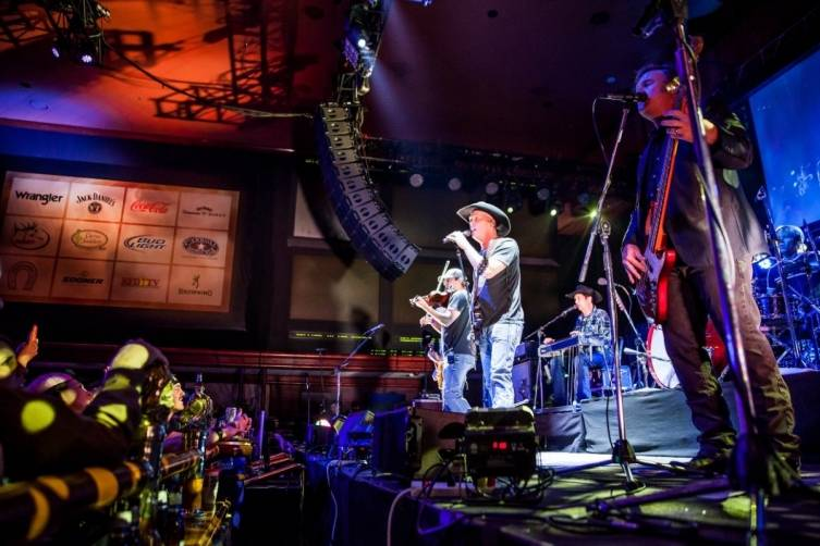12.6.14 Kevin Fowler Performs at Rodeo Vegas at The Mirage - Photo by Joe Torrance, Powers Imagery