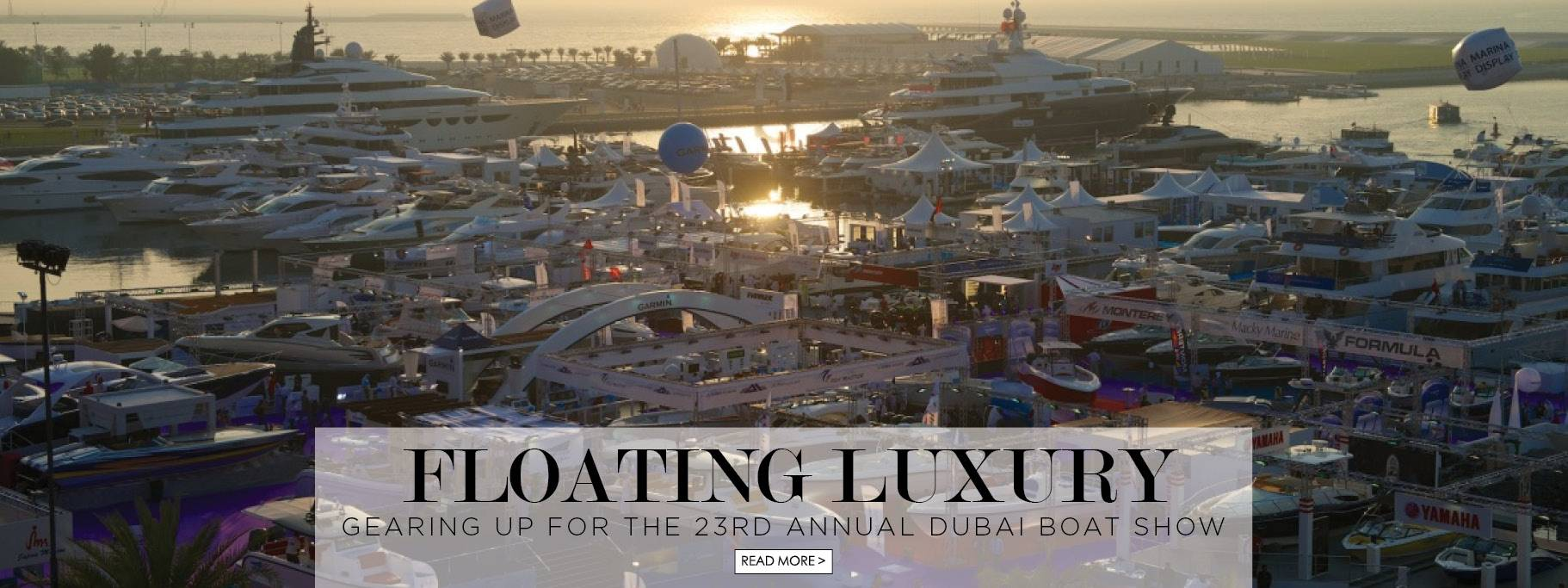 Gearing up for the Dubai Boat Show