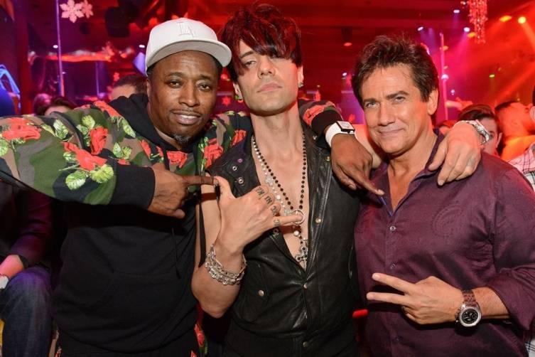 Lil Jon and Criss Angel at Surrender Nightclub. Photos:Karl Larson