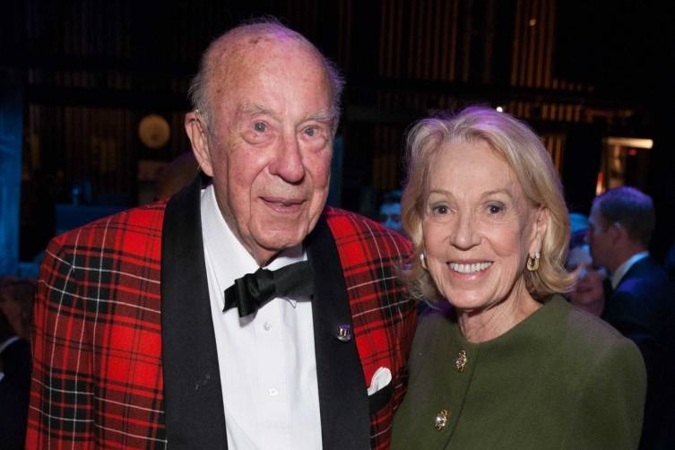 George Shultz and Charlotte Shultz