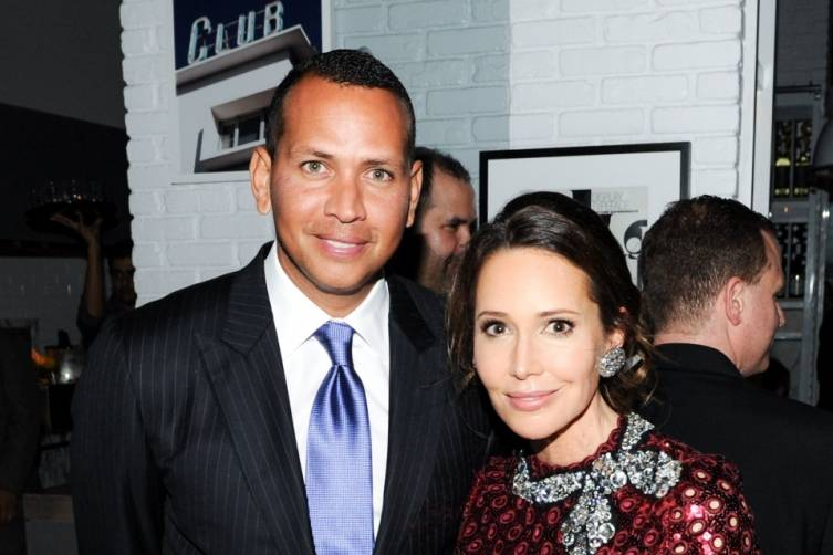 Alex Rodriguez and Friend