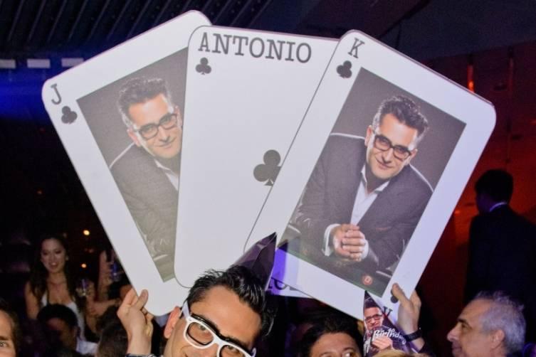 Antonio Esfandiari celebrates his birthday at Marquee