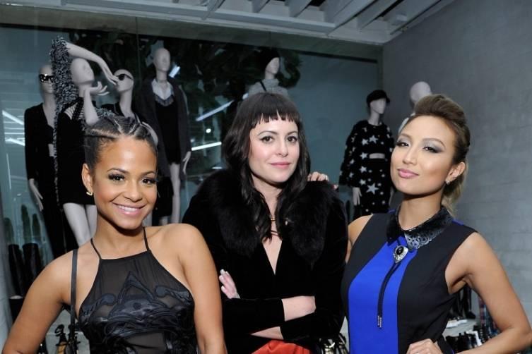 Christina Milian,  Sophia Amoruso and Jeannie Mai
