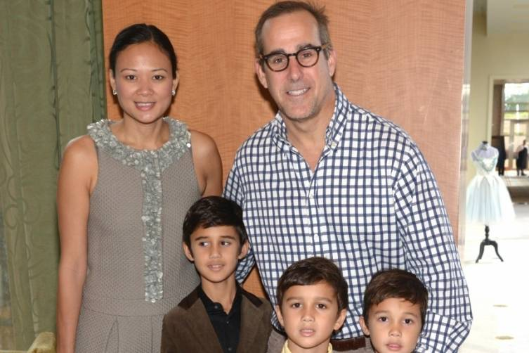 Criselda & Jonathan Breene & family at Miami City Ballet's Nutcracker Magic Gala