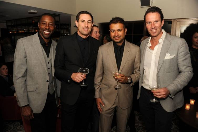 Donae Burston, Richard Beaumont, Kamal Hotchandani, & Trent Fraser