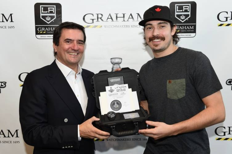 Eric Loth and Drew Doughty
