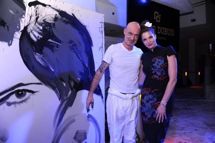 Franck Bouroullec & Stephanie Seymour