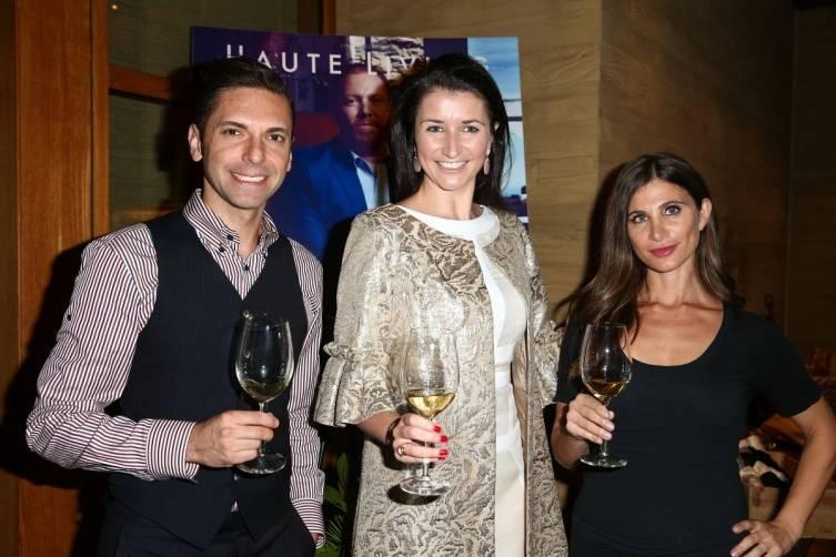 Frank Morales, Julia Fitzroy and Laura Schreffler