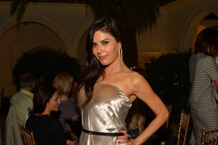 Guest at Haute Living's 10th Anniversary Party by Coldwell Banker and Hublot