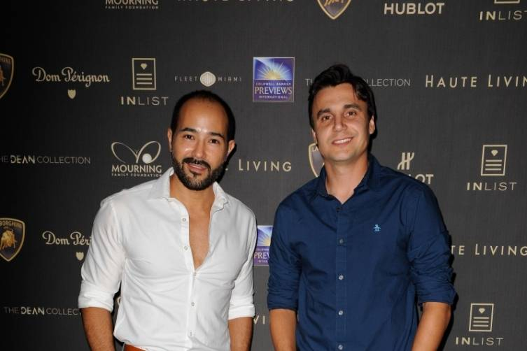 Guests at Haute Living's 10th Anniversary Party by Coldwell Banker and Hublot 12