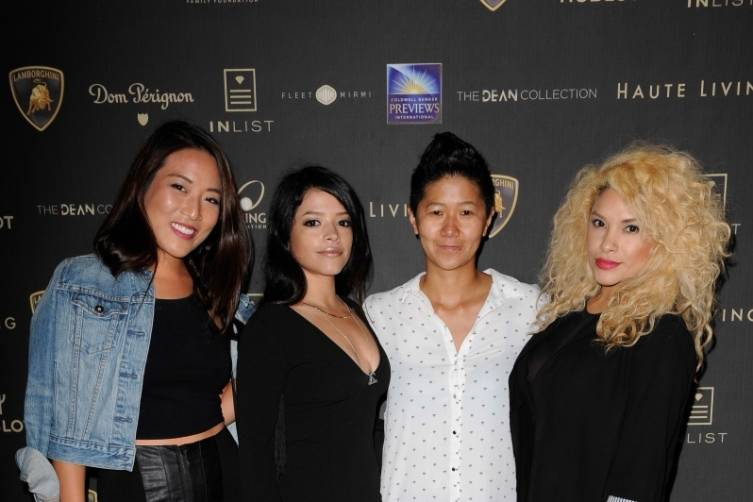 Guests at Haute Living's 10th Anniversary Party by Coldwell Banker and Hublot 13