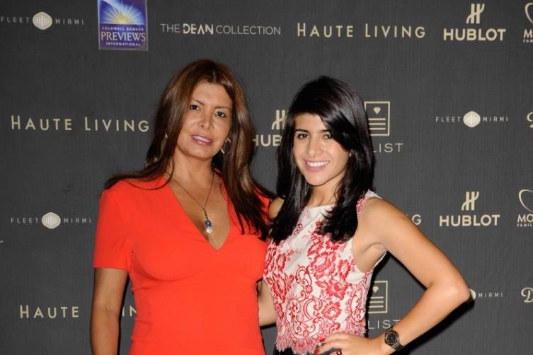 Guests at Haute Living's 10th Anniversary Party by Coldwell Banker and Hublot 6