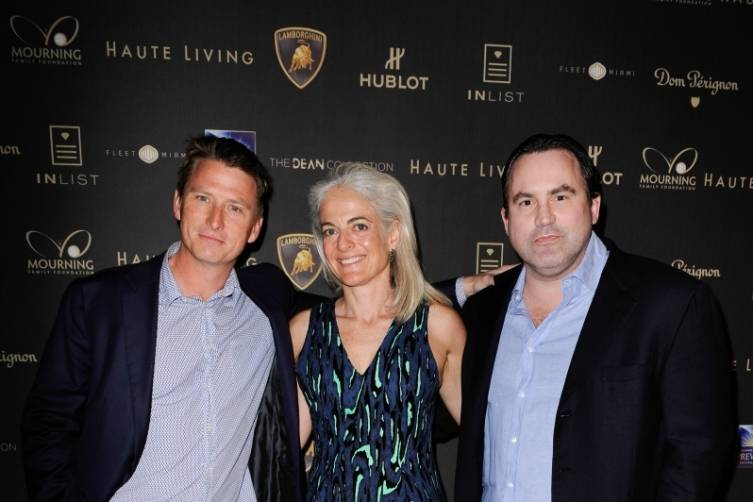 Guests at Haute Living's 10th Anniversary Party by Coldwell Banker and Hublot