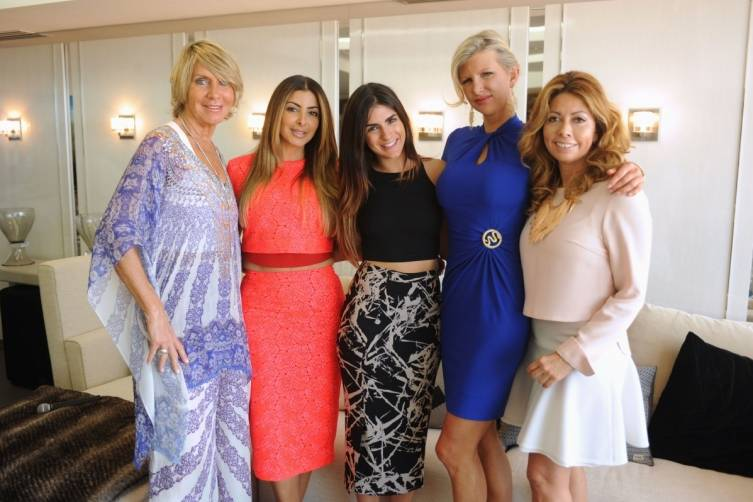 Hope Gainer, Larsa Pippen, Rachael Rusell, April Donelson, Monica Venegas