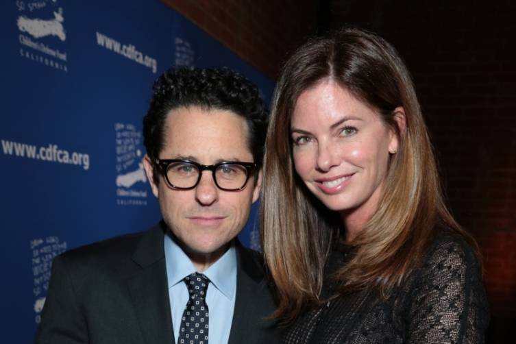 JJ Abrams and Katie McGrath