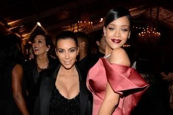 Kim K and Rihanna