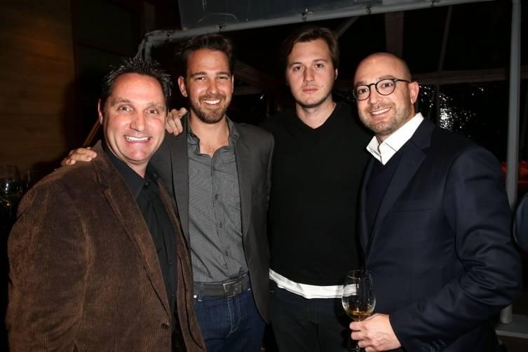 Matthew Kavanaugh, Brent Almond and David Shane