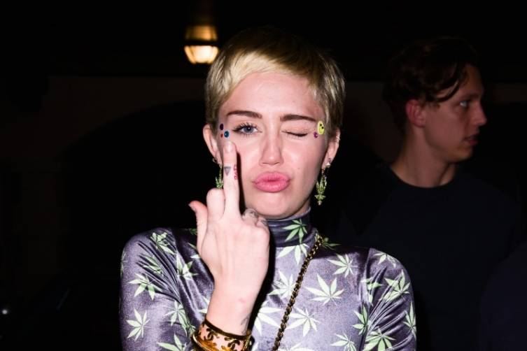Miley Cyrus at Hublot by Sergi Alexander