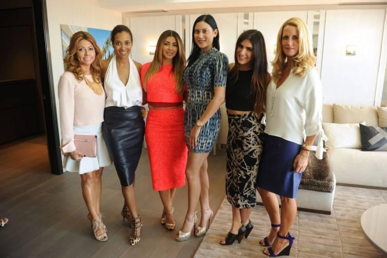Monica Venegas, Ayana Boucher, Larsa Pippen, Kijafa Vick, Rachael Russell, Heather Boucher