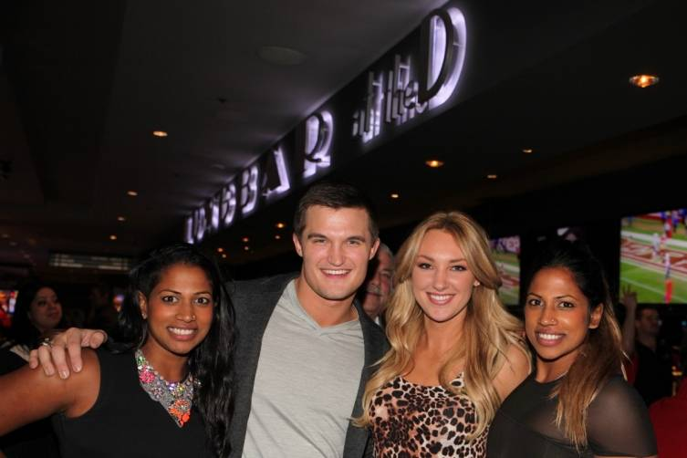 Nadiya Anderson, Jon Misch, Jaclyn Schultz and Natalie Anderson at the D Las Vegas