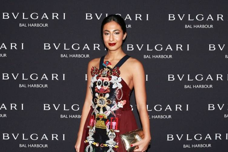 Nausheen Shah at Bulgari Bal Harbour Shops Unveiling with Peter Marino - photo by Ben RosserBFAnyc.com