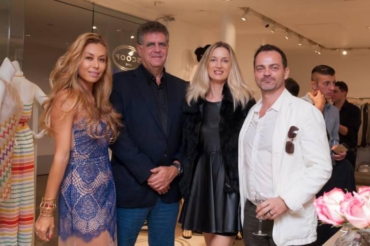 Renata Black, guest, Hadley and Yannick Henriette