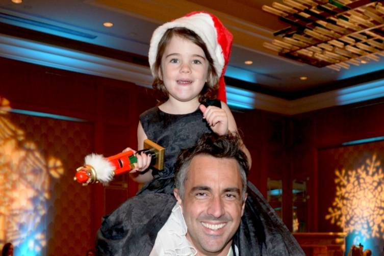 Riley and Everleigh McCormack at Miami City Ballet's Nutcracker Magic Gala