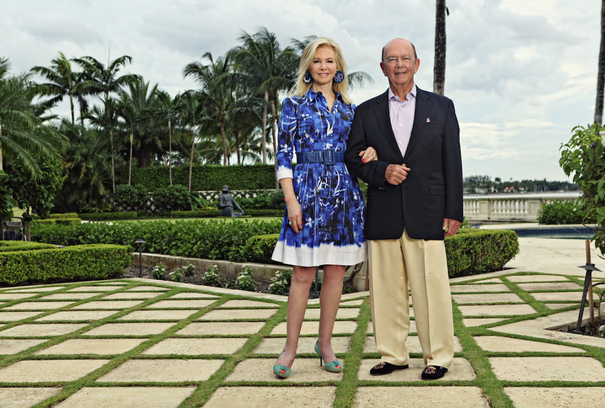 Wilbur And Hilary Ross On Maintaining Their 125 Million