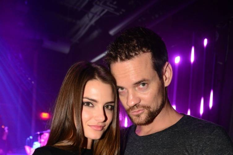 Shane West and Jesica Ahlberg at The Sayers Club_12.6.14
