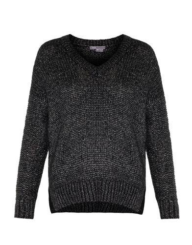 Vince Metallic wool and silk blend sweater $541