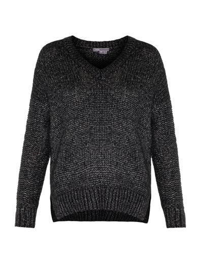 Vince Metallic wool and silk blend sweater $541