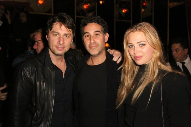 Zach Braff and guests