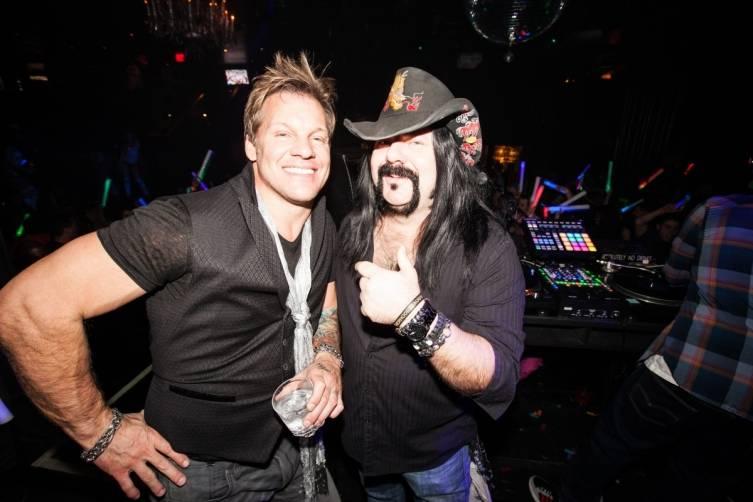 Chris Jericho and Vinnie Paul. Photos: Chase Stevens